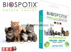 BioSpotiX Kullancs és Bolhaírtó Nyakörv Macskáknak 35cm