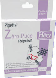 Héry Zero Puce Spot On Kölyökmacska 1ml (2db)