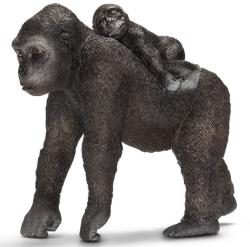 Schleich Gorilla nőstény bébivel