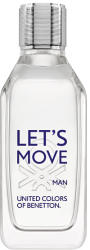Benetton Let's Move Man EDT 100ml Tester