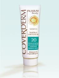Coverderm Filteray Body SPF 20 - fényvédő krém testre