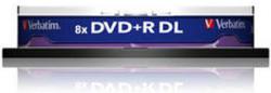 Verbatim DVD+R 8.5Gb 8X - Шпиндел 10бр. Dual layer