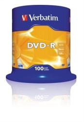Verbatim DVD-R 4.7GB 16x - Henger 100db AZO