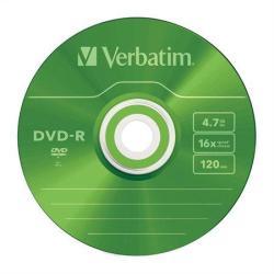 Verbatim DVD-R 4.7GB 16x - Vékony tok 5db AZO (DVDV-16V5S)