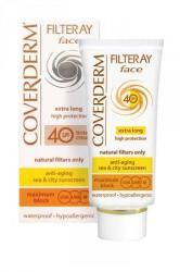 Coverderm Filteray Face Tinted Creams light beige SPF 40 - színezett krém arcra