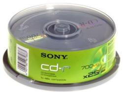 Sony CD-R 700MB 48X - шпиндел 25бр.