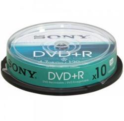 Sony DVD+R 4.7Gb 16X - шпиндел 10бр.