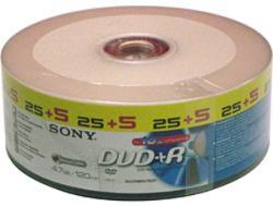 Sony DVD+R 4.7Gb 16X - шпиндел 30бр.