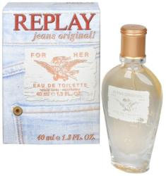Replay Jeans Original for Her EDT 40ml