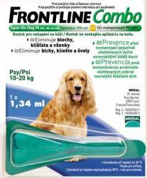 Frontline Combo Spot On M (10-20kg) 1.34ml
