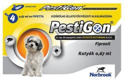 Pestigon Spot On S 2-10kg 0.67ml (4db)
