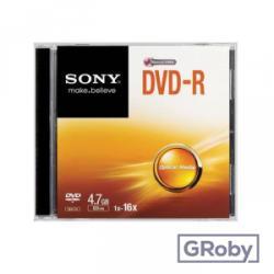 Sony DVD-R 4.7GB 16x - Vékony tok (DMR47SS)