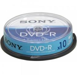 Sony DVD-R 4.7GB 16X - шпиндел 10бр.