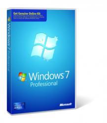 Microsoft Windows 7 Professional SP1 32/64bit ENG 6PC-00004
