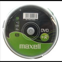 Maxell DVD+R 4.7GB 16x - Henger 10db