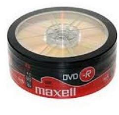 Maxell DVD-R 4.7GB 16x - Henger 25db