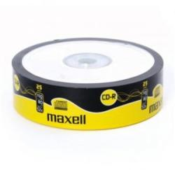 Maxell CD-R 700mb 52X - Шпиндел 25бр.