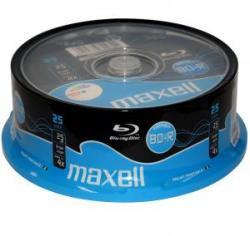 Maxell Blu-ray BD-R 25Gb 4X - Шпиндел 25pk. Printable