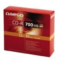 Omega CD-R 700MB 52x - Carcasa CD 10buc.