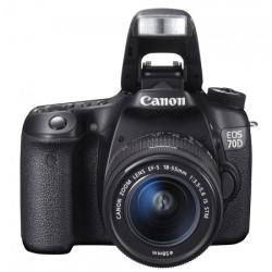 Canon EOS 70D + 18-55mm IS STM (8469B036AB)