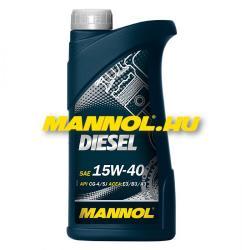 MANNOL 15w40 Diesel 1L