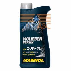 MANNOL 7505 Molibden Benzin 10W-40 (1L)