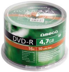 Omega DVD-R 4.7GB 16x - Suport rotund DVD 50buc.