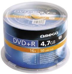 Omega DVD+R 4.7gb 16x - Suport rotund 50buc.
