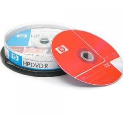 HP DVD+R 4.7Gb 16X - шпиндел 10бр.