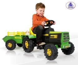 INJUSA Elektromos utánfutós traktor - 6V