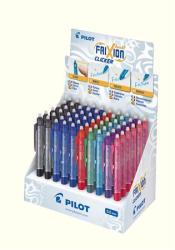 Pilot FriXion Clicker rollertoll display (60db) nyomógombos, törölhető - 7 különböző szín (PFCD01)
