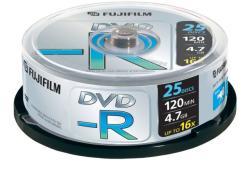 Fujifilm DVD-R 4.7GB 16x - Henger 25db