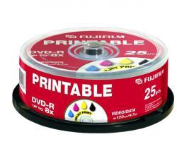 Fujifilm DVD-R 4.7GB 16x - Henger 25db Nyomtatható