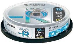 Fujifilm DVD-R 4.7GB 16x - Henger 10db