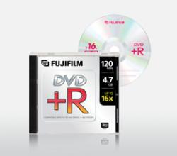 Fujifilm DVD+R 4.7GB 16x - Vékony tok