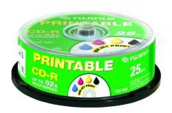 Fujifilm CD-R 700MB 52x - Henger 25db Nyomtatható
