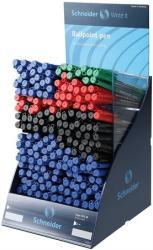 Schneider Tops 505 F és Tops 505 M golyóstoll display (190db) vegyes vonalvastagság, kupakos - Vegyes színek (TSCTOP505V190)