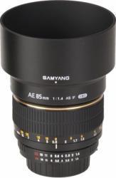 Samyang AE 85mm f/1.4 (Nikon)