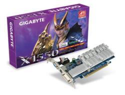 GIGABYTE Radeon X1550 128MB 64bit DDR2 PCIe (RX155128D-RH)