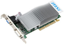 MSI GeForce N6200 LP 512MB GDDR2 64bit AGP (N6200-512D2H/LP)