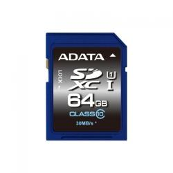 ADATA SDXC 64GB Class 10 ASDX64GUICL10-R