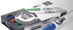 FORPUS Marker whiteboard si flipchart, FORPUS, 4 buc. /set