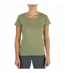 The North Face Logo Line Tee - olive póló