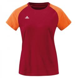 VAUDE Logo Women Tee - darkred póló