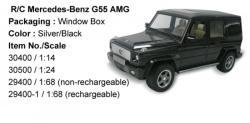 Rastar Mercedes-Benz G55 AMG 1/24