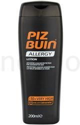 PIZ BUIN Allergy napozótej SPF 50+ - 200ml - magas UV védelemmel
