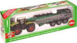 Siku Claas traktor utánfutóval