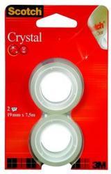 3M Ragasztószalag 19mm x 7,5m - Crystal (LPM61975R2)