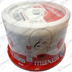Maxell DVD-R 4.7GB 16x - Henger 50db Nyomtatható (275701.40 CN)