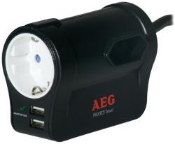AEG Protect Travel 1 Plug + 2 USB (6000007747)